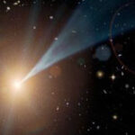 First stars' light seen through extragalactic fog