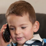Toddler, saves mother's life by calling his gran